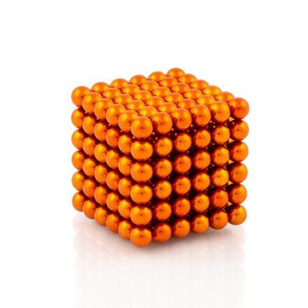 NeoCube oranžové – magnetická stavebnice, 216 kuliček