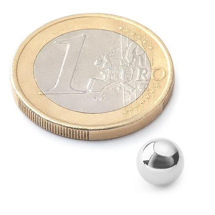NeoCube 5mm stříbrné - náhradní kulička