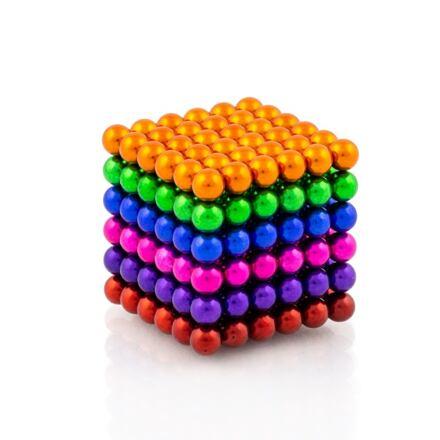 NeoCube mix 6 barev – magnetická stavebnice 216 kuliček