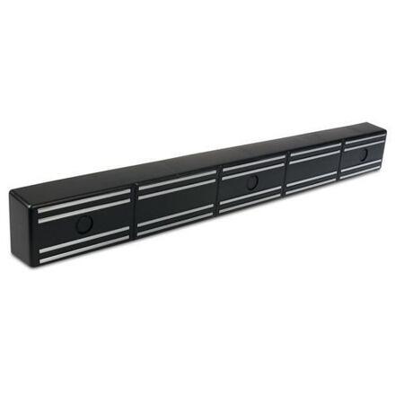 Magnetický držák na nože, černý, 36 cm