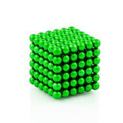 NeoCube zelené – magnetická stavebnice, 216 kuliček