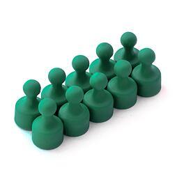 Magnetické figurky M4 zelené, 10 ks, 12 × 20 mm