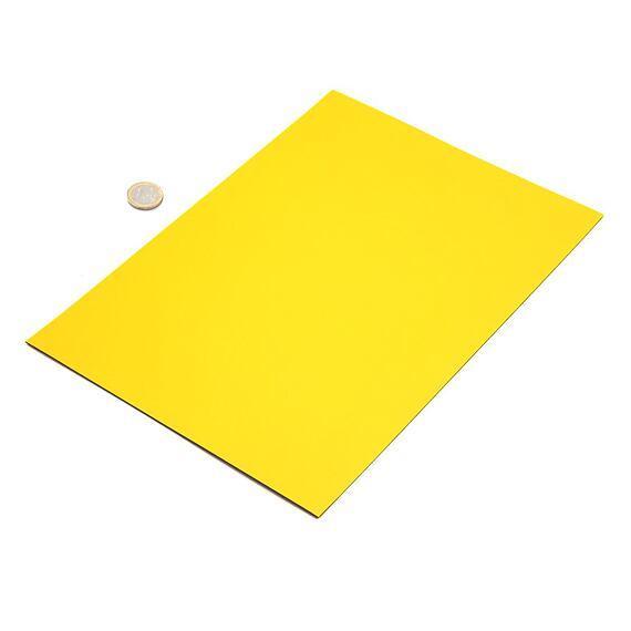 Žlutá magnetická fólie – arch A4