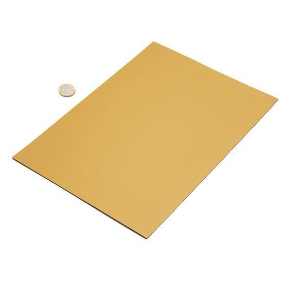 Zlatá magnetická fólie, metalická – arch A4