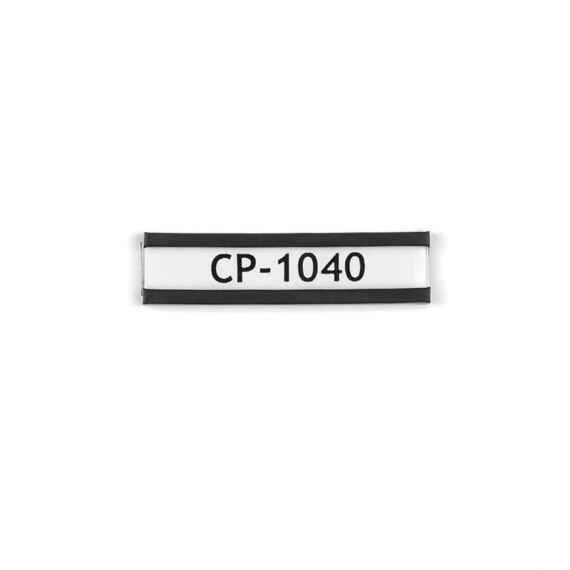 Magnetický štítek na označování, 40 × 10 mm
