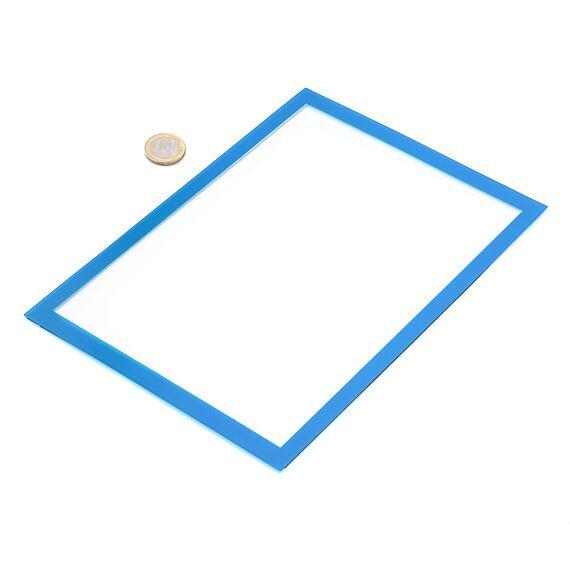 Magnetická kapsa na papír A5 – modrá