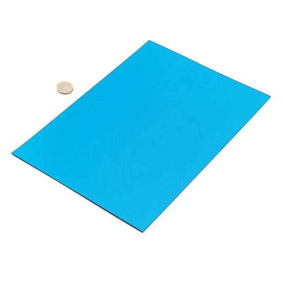 Modrá magnetická fólia – arch A4