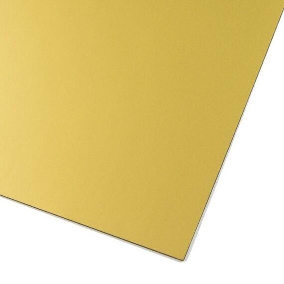 Zlatá magnetická fólie, metalická – arch A3