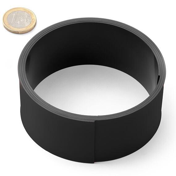 Magnetická páska 40 x 1 mm - černá